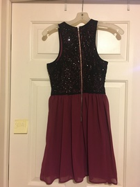 Red Size 6 A-line Dress on Queenly