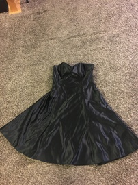 Queenly size 14  Black Ball gown evening gown/formal dress