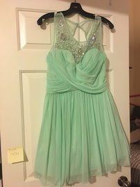 Green Size 14 A-line Dress on Queenly