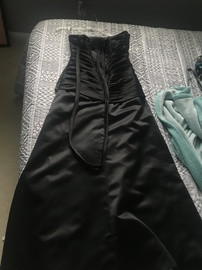 Black Size 6 Ball gown on Queenly