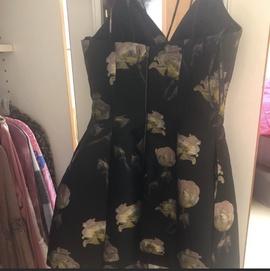 Sherri Hill Multicolor Size 8 Mini Cocktail Dress on Queenly