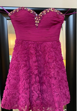 Queenly size 2 Beyond - Division of Jovani Purple Cocktail evening gown/formal dress
