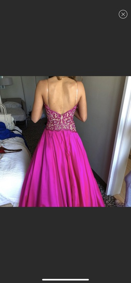 Sherri Hill Pink Size 6 Sweetheart Tall Height Custom Ball gown on Queenly