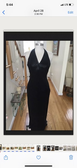 Algo Black Size 8 Cocktail Dress on Queenly