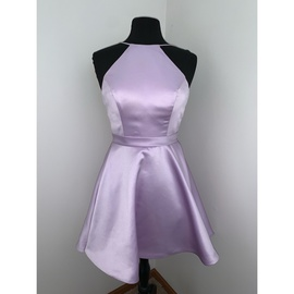 Queenly size 2  Purple Straight evening gown/formal dress