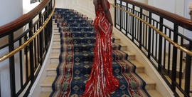 Sherri Hill Red Size 2 Jewelled Short Height Side slit Dress on Queenly