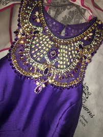 Queenly size 2 Coya Collection Purple Ball gown evening gown/formal dress
