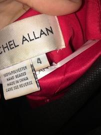 Rachel Allan Red Size 4 Jumpsuit Romper/Jumpsuit Dress on Queenly