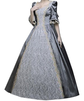 Silver Size 24 Ball gown on Queenly