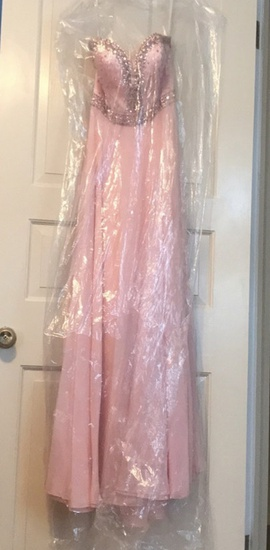 Sherri Hill Pink Size 4 Jewelled Sweetheart A-line Dress on Queenly