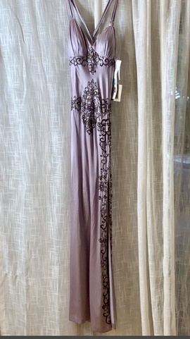 Suzy Wong Light Purple Size 4 Side slit Dress on Queenly