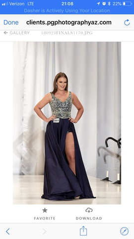 Blue Size 4 Romper/Jumpsuit Dress on Queenly