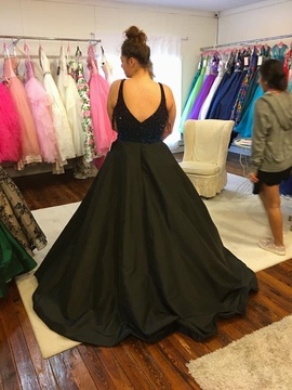 Jovani Black Size 18 Prom Ball gown on Queenly
