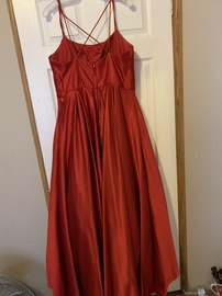 Blondie Nites Red Size 18 Homecoming Plus Size Ball gown on Queenly