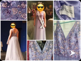 Mori Lee Light Purple Size 8 A-line Dress on Queenly
