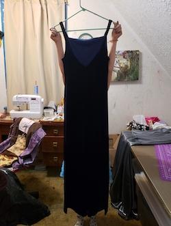 Be Smart Blue Size 12 Side slit Dress on Queenly