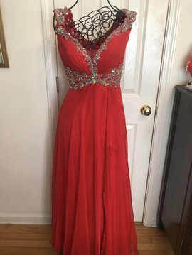 Mac Duggal Red Size 2 Macduggal Jewelled Sequin Ball gown on Queenly