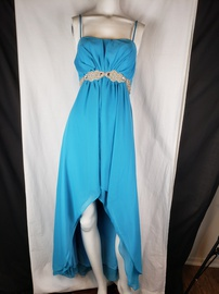 Eureka  Blue Size 2 Tulle Cocktail Dress on Queenly