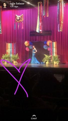 Jovani Blue Size 2 Train Mermaid Dress on Queenly