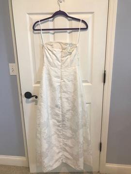 Venus White Size 2 Fun Fashion Romper/Jumpsuit Dress on Queenly
