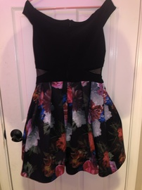 Xscape Multicolor Size 10 Homecoming Cocktail Dress on Queenly
