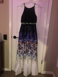 Queenly size 10  Multicolor A-line evening gown/formal dress