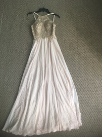 Queenly size 4 Xscape Nude Ball gown evening gown/formal dress