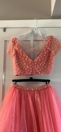 Sherri Hill Light Pink Size 0 Prom Ball gown on Queenly