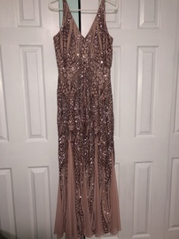 Pink Size 10 Mermaid Dress on Queenly