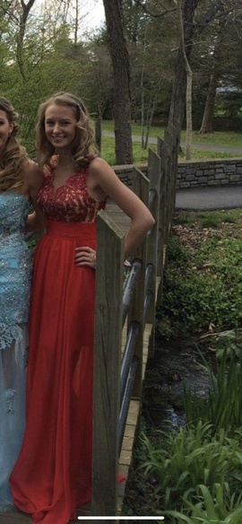 Sherri Hill Red Size 0 Prom Tall Height Straight Dress on Queenly
