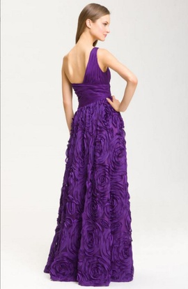 Adrianna Papell Purple Size 6 Prom Ball gown on Queenly