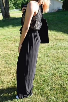 Black Size 8 Romper/Jumpsuit Dress on Queenly