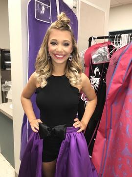 Rachel Allan Purple Size 2 Halter Fun Fashion Ball gown on Queenly