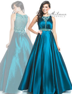 Queenly size 12 Milano Formals Green Ball gown evening gown/formal dress