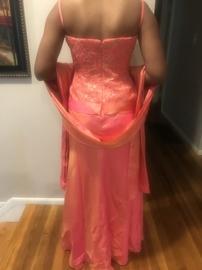 Jovani Orange Size 10 Prom A-line Dress on Queenly