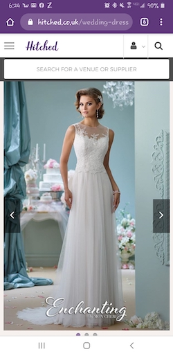 Mon Cheri White Size 8 Sweetheart Train A-line Dress on Queenly
