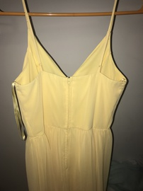 Windsor Yellow Size 4 Side slit Dress on Queenly