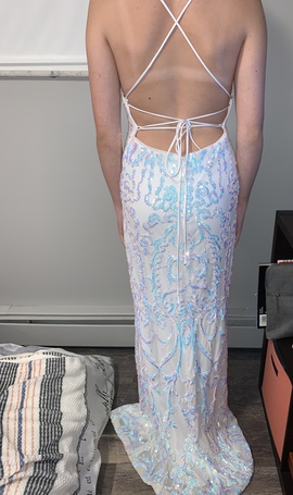 Camille La Vie White Size 2 Corset Tall Height Straight Dress on Queenly