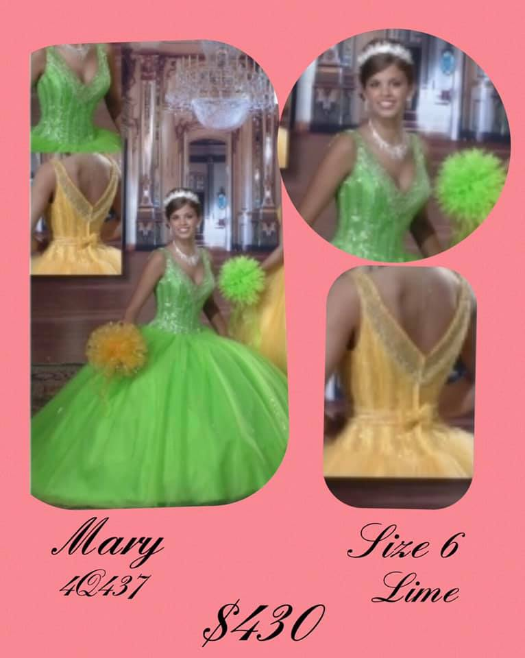 Queenly size 6 Mary Green Ball gown evening gown/formal dress