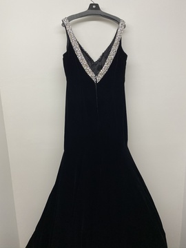 Sherri Hill Black Size 14 Jewelled Pageant Mermaid Dress on Queenly