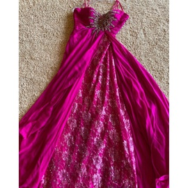 Mac Duggal Pink Size 6 Overskirt A-line Dress on Queenly
