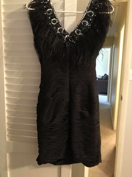 Black Size 0 Cocktail Dress on Queenly