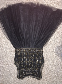 Jovani Black Size 4 Ball gown on Queenly