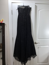 Jovani Black Size 6 Prom Sweetheart Mermaid Dress on Queenly