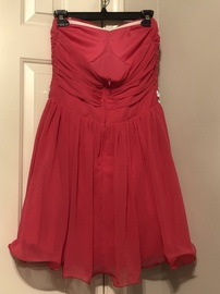 B. Darlin Pink Size 12 Plus Size Homecoming Sweetheart Cocktail Dress on Queenly