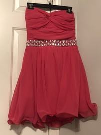 Queenly size 12 B. Darlin Pink Cocktail evening gown/formal dress