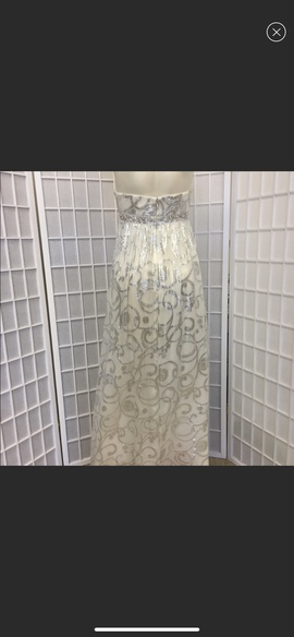 Agua White Size 8 Print Cocktail Dress on Queenly