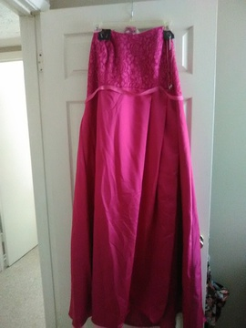 Queenly size 24  Pink Side slit evening gown/formal dress