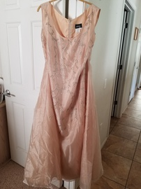 Nude Size 24 A-line Dress on Queenly