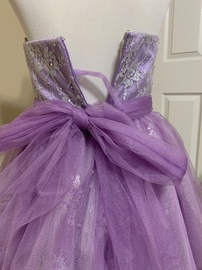 Sherri Hill Light Purple Size 4 Sweetheart Strapless Cocktail Dress on Queenly